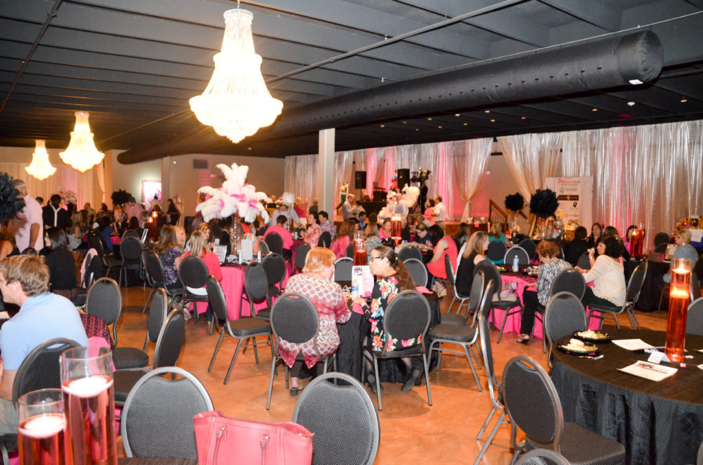 Event Floor at Bras for a Cause Gulf Coast